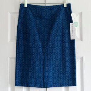 NWT Blue Margaret M Skirt